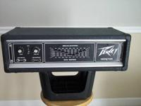 I have a Peavey Series 260 C power amp for sale.