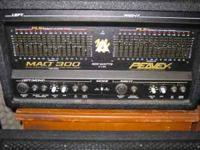 MAQ300 ---power amp ---paid over 500.00---will sell for