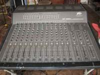12 channel powered mixer every thing works great, i