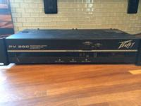 I am looking to trade my older model Peavey PV 260