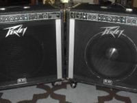 I HAVE TWO PEAVEY SESSION 500 FOR SALE. THEY ARE IN