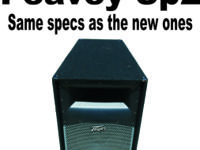 Pair Peavey SP2 Speaker's Excellent Condition and Sound