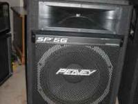 SET OF PEAVEY SP5G SPEAKERS IN NEW CONDITION, 15 INCH
