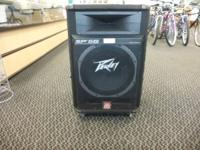 This is a single used Peavey SP5G PA speaker for sale.