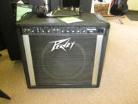 Up for sale is an 80s Peavey Unique 150. 1x12 Arachnid