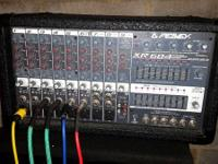 Selling my peavey stereo powered mixer (Xr684). I'm