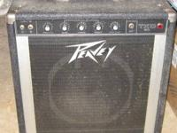 This is a Peavey TKO 80 Bass amp .You'll need to bring
