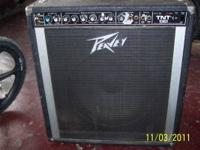 Used Peavey TNT 130 Electric Bass Combo Amp. I was told