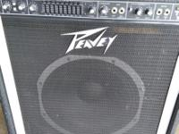 Peavey TNT 150 bass amp. Solid amp. Sounds great!
