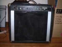 for sale peavey encore 65 guitar amp,all tube with two