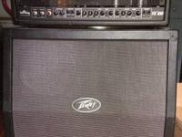 Consists of Peavey Valve King 100 Watt Head, 4/12