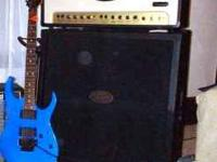 The Peavey Windsor Half-Stack & a Customized Ibanez
