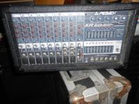 For Sale  Peavey Xr684 9 Channel Powered Mixer  Peavey