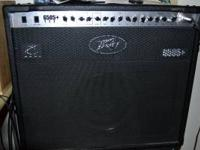 I'm looking to sell my Peavey 6505 112 tube amp. I