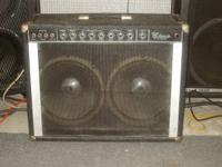 PEAVEY CLASSIC 212 TUBE GUITAR AMP. NEW TUBES WORKS