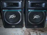 SELLING A USED SET OF PEAVEY SPEAKERS SP5XT WITH