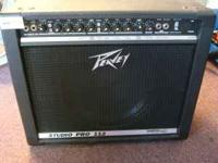 Peavey Studio Pro 112 Amp in good used condition. This