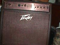 Peavy Ecoustic 110 Amp. Nice Acoustic amp with 2