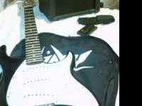 Peavy Raptor EXP electric guitar. Guitar is in Amazing