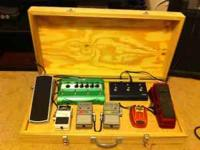 "Custom Made Pedal Board box 30x15x 5 1/2"" its great for"