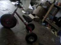 tricycle 25.00 gocart 30.00 both great condition.