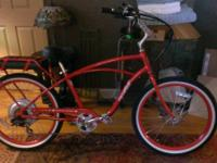 PEDEGO Classic Comfort Cruiser II, 36V / 10AH, Red with