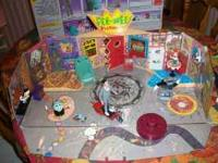 Pee-Wee's Playhouse with original box and contents.