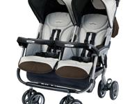 The Peg Perego Aria Twin 60/40 Stroller is Peg Peregos