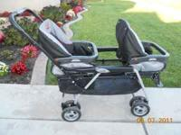 Peg Perego Duette double stroller. Good condition.