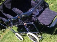 For sale a Peg-Perego Triple Stroller in great shape.