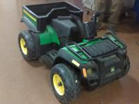 This is a large Power Wheels made by Peg Perego and it