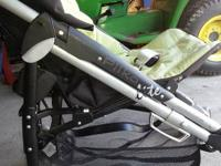 We are selling Peg Perego stroller. This stroller folds