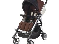 The Peg Perego Si Stroller in Java is the compact easy