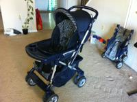 Peg Perego stroller .. Handle can adjust to allow baby
