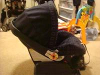 We have for sale the Peg Perego car seat come with base