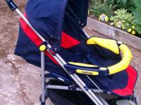 Peg Perego Stroller. I have LOVED this stroller and so