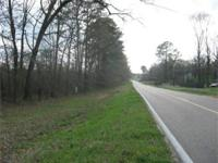 This is a wooded tract fronting Hwy 80 between Brandon