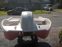 pelican paddle boat in good condition.. BUT NEEDS A