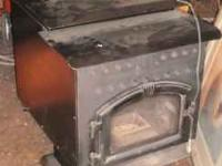 1993 pellet stove runs good 3 speed 5 foot double
