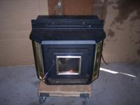 ** CASH ONLY, NO SHIPPING **    ENGLAND pellet stove