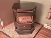 Whitfield Profile 20 30 freestanding pellet stove.  Was