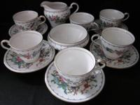 Very nice looking partial tea set in great shape.