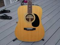 Unusual vintage mid-1970's Penco 6 string Guitar,