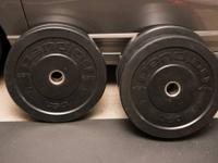 Pendlay Econ V2 Bumper Plates. Never ever dropped and