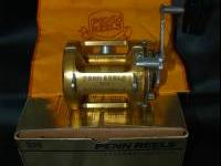 like new penn international 30 tw lever drag reel.