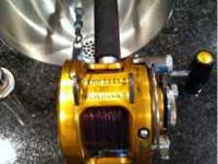 Penn International 20 T reel with Penn Senator rod.