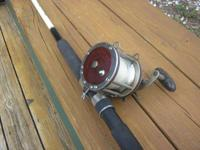 Penn 113H Grouper Rod & Reel, Special 4/0 Senator, High