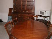 Pennsylvania Residence solid cherry eating room table &