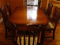 BIG, Solid Wood Pennsylvania House Dining Table and