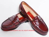 Brand New Cole Haan Burgundy Pinch Penny Loafers size 8